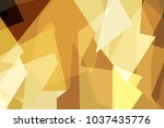 colorful low polygon pastel... | Shutterstock .eps vector #1037435776