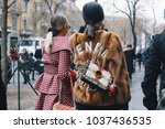 milan  italy   february 22 ... | Shutterstock . vector #1037436535