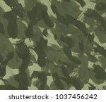 oil painting on canvas handmade....   Shutterstock . vector #1037456242