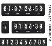 countdown timer. illustration... | Shutterstock .eps vector #103746662