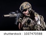 usa delta special forces | Shutterstock . vector #1037470588