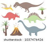 Set Of Dinosaurs Including...