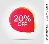 discount offer price label ... | Shutterstock .eps vector #1037484295