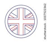 united kingdom icon image    Shutterstock .eps vector #1037522362
