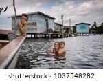 ologa  lake maracaibo ... | Shutterstock . vector #1037548282
