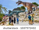 pattaya   thailand  august 12 ... | Shutterstock . vector #1037572432