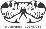 creative viper illustration   Shutterstock .eps vector #103757768