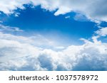 the skies every day and feel... | Shutterstock . vector #1037578972