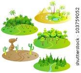 Fun Cartoon Map Elements ...