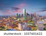 Dallas  Texas  Usa Skyline From ...