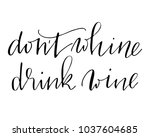 phrase handwritten text...   Shutterstock . vector #1037604685
