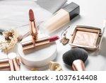 luxury beautiful light  design... | Shutterstock . vector #1037614408