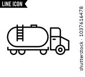 transportation vector icon | Shutterstock .eps vector #1037616478
