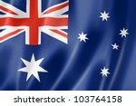 Australia Flag  Three...