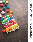 easter eggs   happy easter | Shutterstock . vector #1037665588