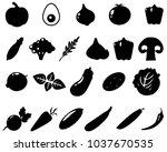 black and white illustration....   Shutterstock .eps vector #1037670535