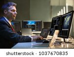 side view of a mature... | Shutterstock . vector #1037670835