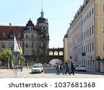 dresden  germany   april 27 ... | Shutterstock . vector #1037681368