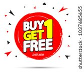 Buy 1 Get 1 Free  Sale Tag ...