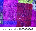 Colorful Maroon  Purple And Se...