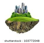 image of a modern city... | Shutterstock . vector #103772048