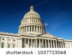 united states capitol building  ... | Shutterstock . vector #1037723068