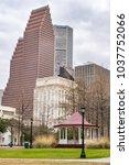 Small photo of Downtown Houston and Park - Houston, Texas, USA