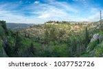 scenic view of ein karem   an...   Shutterstock . vector #1037752726