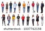 group of people | Shutterstock . vector #1037762158