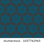 decorative wallpaper design in... | Shutterstock .eps vector #1037762965