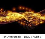 technology of space series....   Shutterstock . vector #1037776858