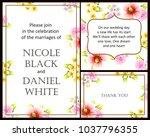 vintage delicate invitation... | Shutterstock .eps vector #1037796355