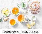 Cough Tea. Green Tea With Lemo...