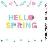 Springtime Illustration With...