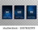 abstract galaxy colorful... | Shutterstock .eps vector #1037832595