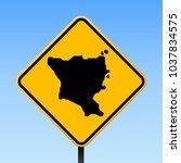 green island  taiwan map road... | Shutterstock .eps vector #1037834575