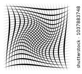 grid  mesh  lattice with... | Shutterstock .eps vector #1037883748