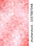 light red polygonal... | Shutterstock . vector #1037887048
