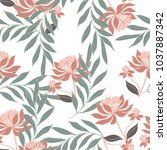 abstract elegance pattern with... | Shutterstock .eps vector #1037887342