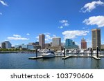 baltimore maryland downtown... | Shutterstock . vector #103790606