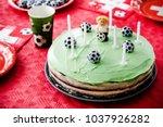 Kids birthday party football...