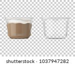two packages for the products.... | Shutterstock .eps vector #1037947282