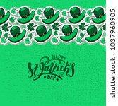 vector illustration of st.... | Shutterstock .eps vector #1037960905