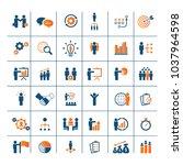 universal business strategy...   Shutterstock .eps vector #1037964598