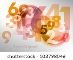 abstract background with the... | Shutterstock .eps vector #103798046