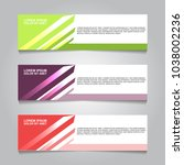 vector design banner background. | Shutterstock .eps vector #1038002236