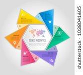 creative concept for... | Shutterstock .eps vector #1038041605