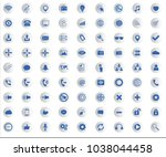 web icon collection with...