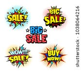 sale label tags set  promotion... | Shutterstock .eps vector #1038064216