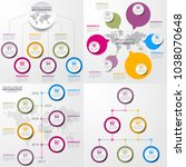 business infographics  strategy ... | Shutterstock .eps vector #1038070648